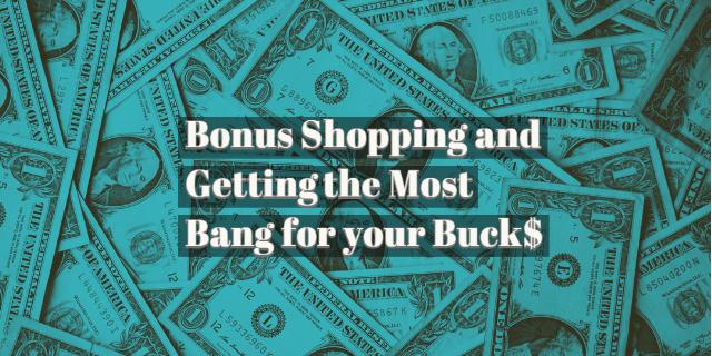 bonus shopping