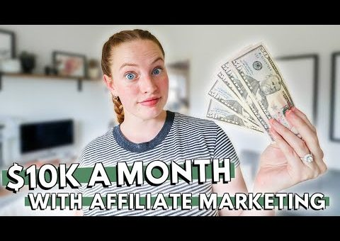 How To GET STARTED With Affiliate Marketing & ACTUALLY Make Money // My affiliate marketing strategy