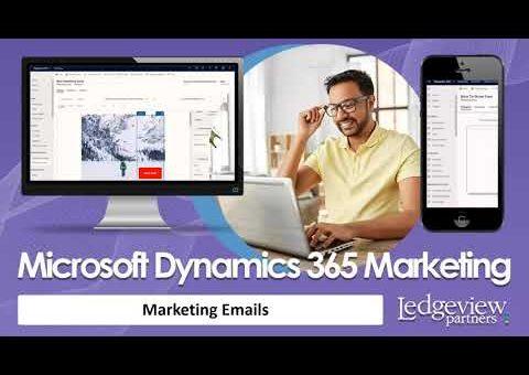 Demo: Microsoft Dynamics 365 Marketing – Email Marketing