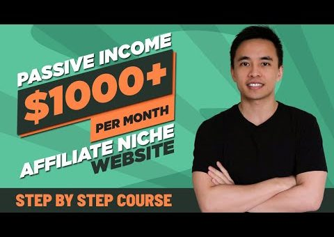 How to Build a $1000+/Month Affiliate Marketing Website (Make Passive Income) – 2021